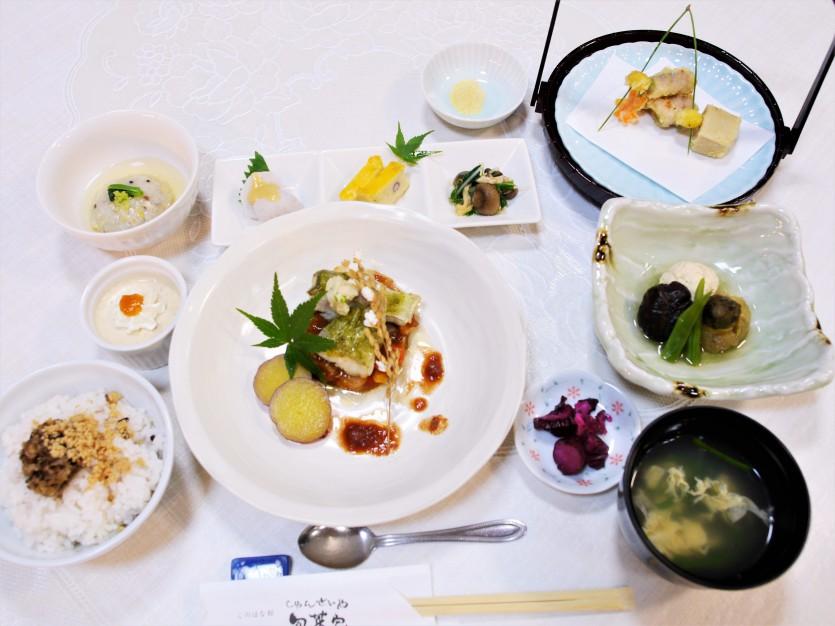 レストラン『旬菜家』秋の新メニューのお知らせ