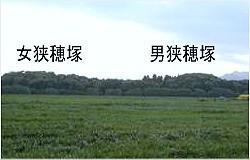 男狭穂塚・女狭穂塚